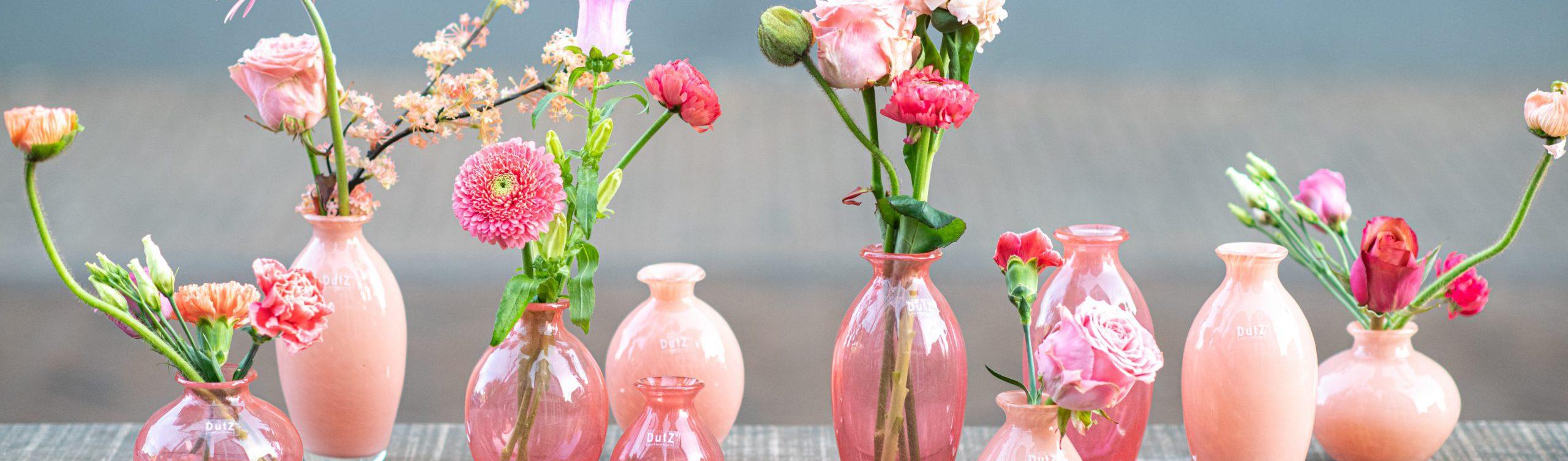 Kleine Nadiel vasen in rosa